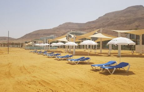 4 חופים יפתחו לקהל בים המלח