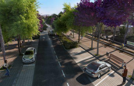 13 מיליון ₪ יושקעו ברחוב הראשי בירוחם שיהפוך לשדרה המחוברת לאגם ירוחם