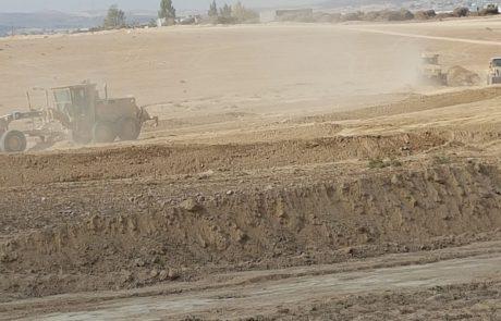 """קק""""ל החלה עבודות קרקע באזור נחל יתיר להכשרת יער משוש"""