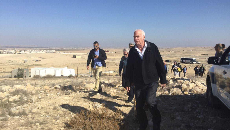 יוצאי צבא וכוחות הביטחון במגזר הבדואי- יועדפו בשיווק קרקעות למגורים