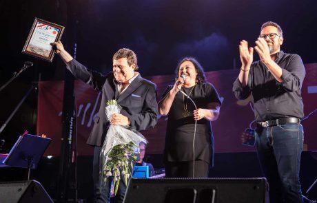 יהורם גאון יקיר פסטיבל ערד וחיים משה שר עם גבי אשכנזי- הפתעות בפסטיבל ערד