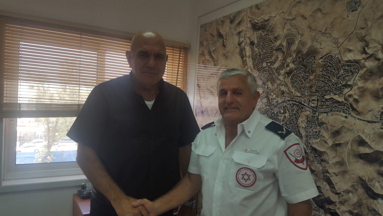 עובדי עיריות הנגב יהפכו ל 'נאמני החיים' של מגן דוד אדום