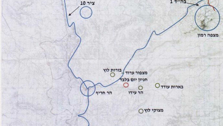 מפה-ציר 10