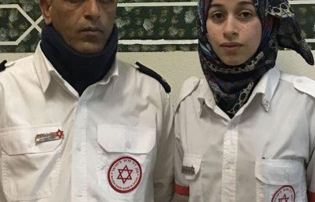 """מתנדבת מד""""א הבדואית הראשונה זכתה באות המתנדב של משרד החינוך"""