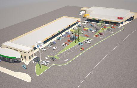 כביש 31-החלה הבנייה על פרויקט 'ישפרו סנטר' בכניסה לערד