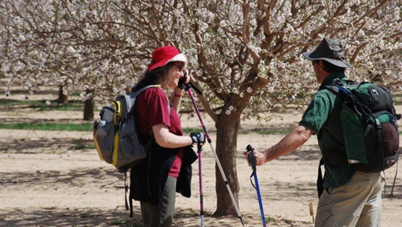 קבוצת שביליסטים מאילות בין תל ערד לערד צילום-ענת רסקין