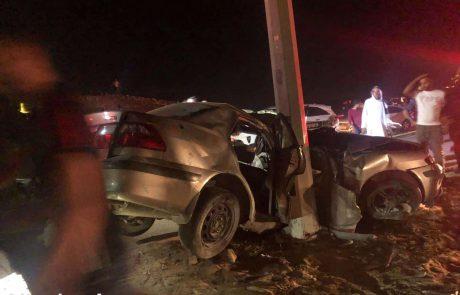 2 צעירים נהרגו בתאונה קטלנית ליד ערד