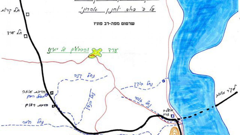 דרך אדום המקראית שירטוט-דב פוניו לאתר 31מזרח