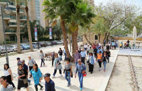 ימי חמישי בבאר שבע- עיר שקמה יש מאין: סיור עירוני בבאר שבע
