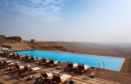 מלון בראשית – זכה בתחרות הבריכה היפה בעולם