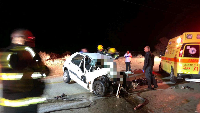 נהרג צעיר בתאונה עם אוטובוס בצומת רותם