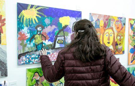 """תערוכת ציורים """"חכמת הרגש""""- הצצה אל עולמם של אוכלוסיית הצרכים המיוחדים"""