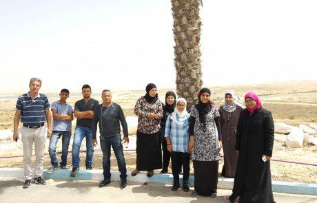 מועצת נאות חובב מציעה סיורים גם לקהל דובר ערבית