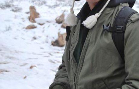 שלג בחבל יתיר ודרום הר חברון