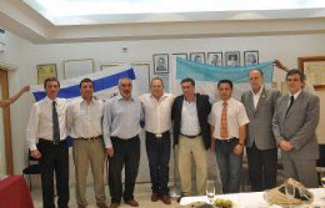 מועצה אזורית תמר וארגנטינה – ברית ערים תאומות