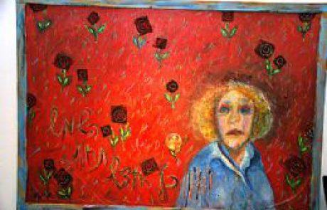 'דיוקן ונוף' תערוכה של האומנית מערד מרתה דבני בגלריה 'גלריה על הגבעה' שבמיתר