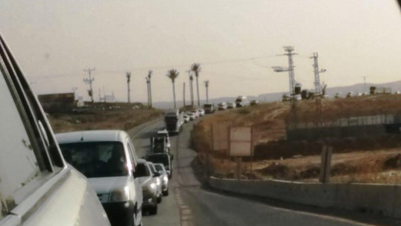 החלה הפעילות להפסקת תנועת המשאיות על כביש 60