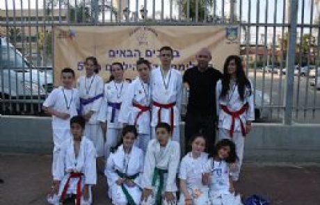 7 מדליות זהב לנבחרת הקראטה ממיתר באולימפיאדת הילדים