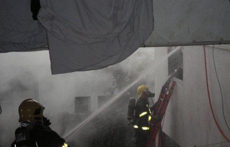 שריפה בדירה בערד ודייר פצוע