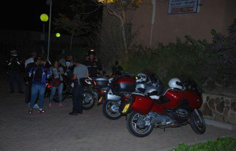 אכסניית הנוער ערד- ארחה את מועדון האופנועים הישראלי