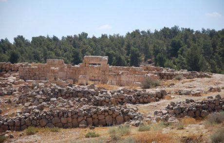 בית הכנסת בחורבת ענים ביער יתיר