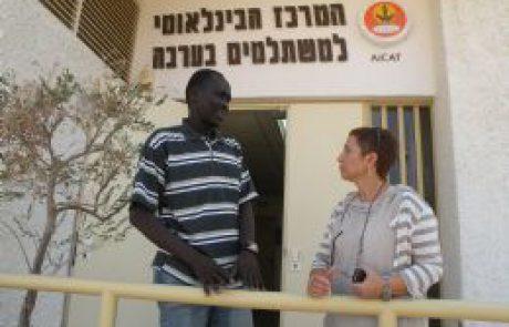 סטודנט סודני ראשון במרכז המשתלמים בערבה