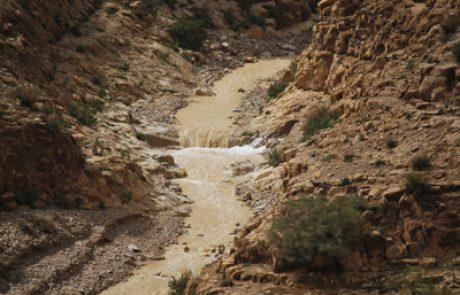 גשמים בדרום ומים במדבר