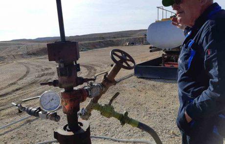 """""""משהו קרה שם למטה"""" – נפט פרץ בקידוח """"צוק תמרור 3"""" ליד ערד"""