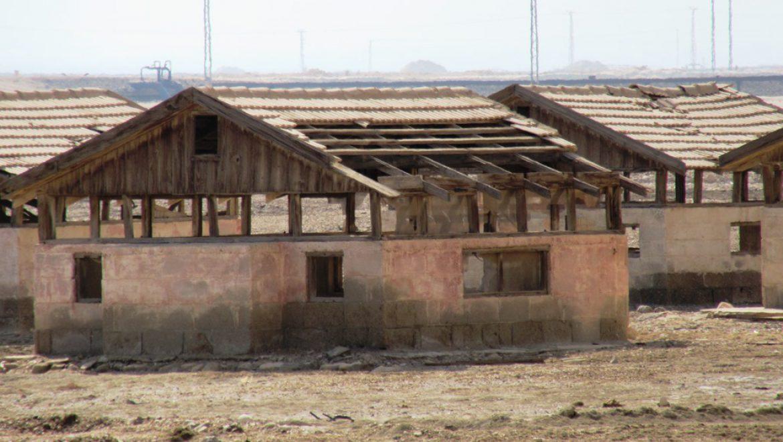 מבנים שקועים בקרקע לצינון המבנה צילום-ענת רסקין