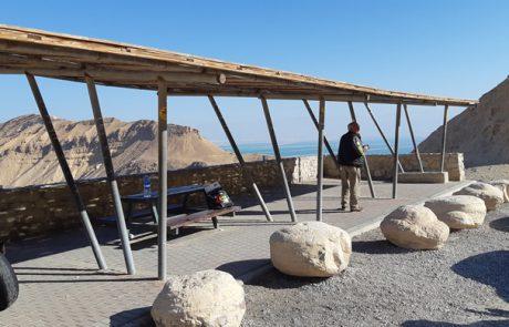 מצפור מצד זוהר-תצפיות נוף מכביש 31 בירידה לים המלח