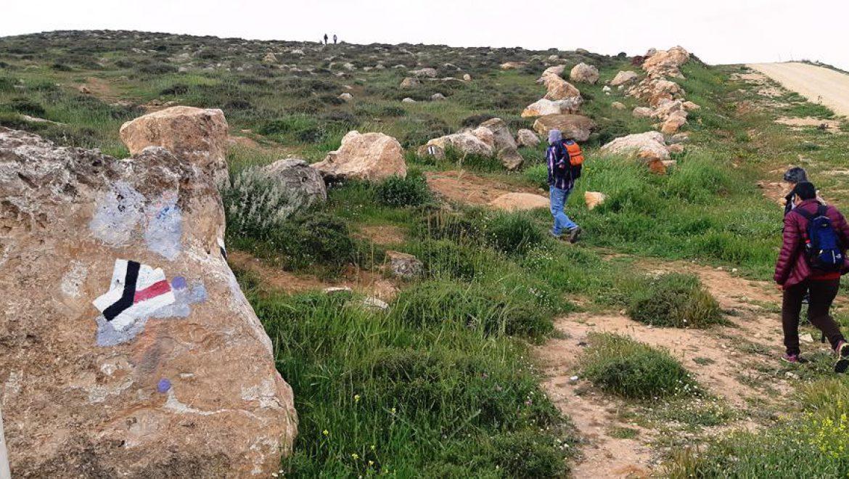 כניסה לדרך המדרגותהרומיות ליד הר עמשא צילום-ענת רסקין