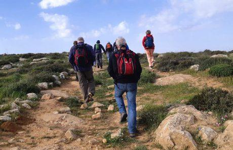 שביל ישראל מהר עמשא לתל ערד- דרך המדרגות הרומיות