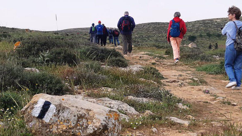 שביל ישראל-מהר עמשא לתל ערד צילום-ענת רסקין