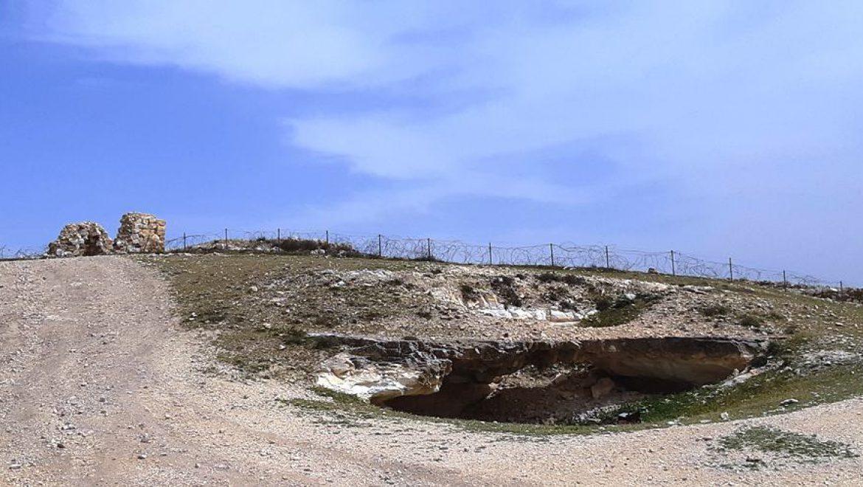 פינת החומה בתל ערד צילום-ענת רסקין