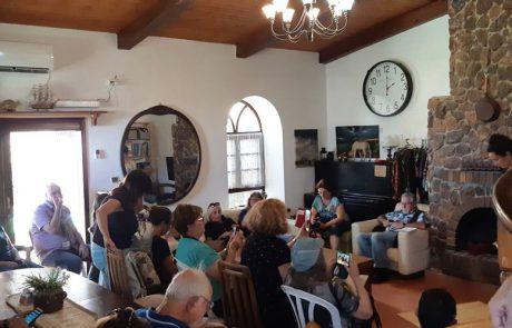 סיור וסיפור- חווית בתי האירוח בעיר ערד