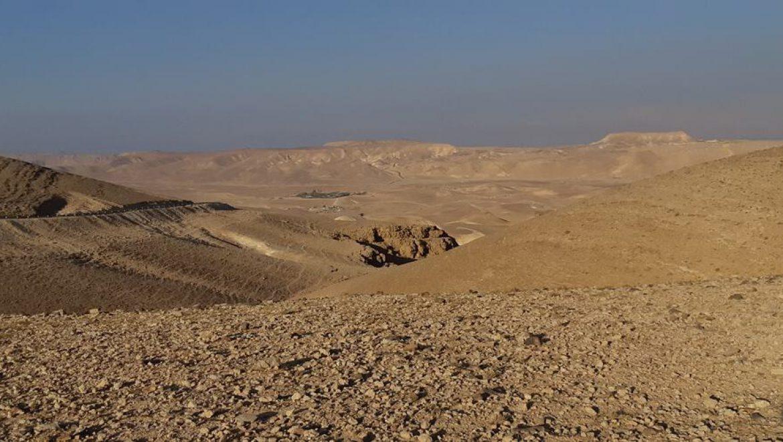 מבט לבקעת הקנאים וכפר הנוקדים ממצפור אסף בערד צילום-ענת רסקין