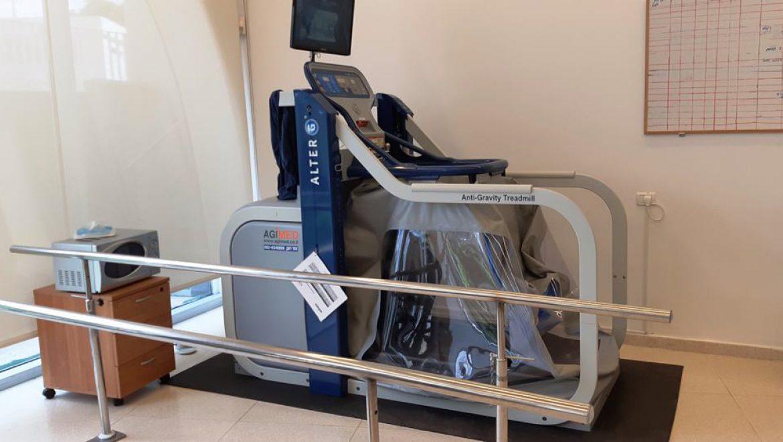 """מכשיר של נאס""""א במרכז עזרה למרפא בשדרות צילום-ענת רסקין"""