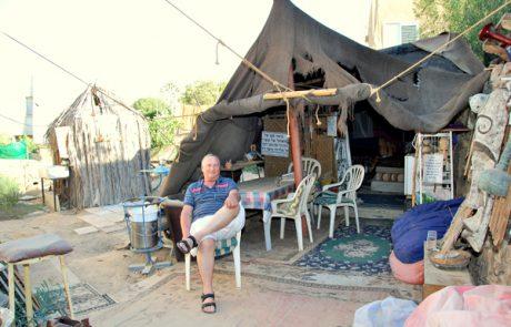 מלאכי שביל ישראל באזור הנגב המזרחי