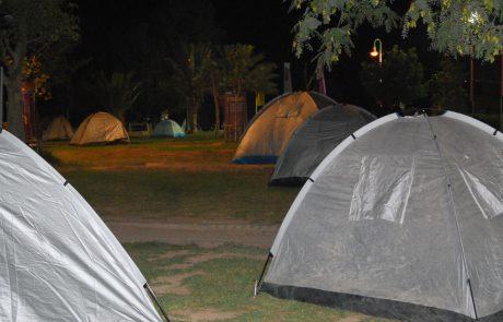 חניוני לילה מוסדרים בשטח