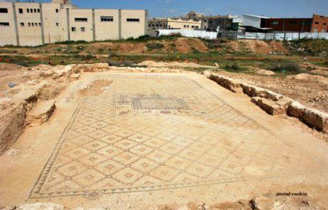 בעקבות עבודות בכביש 31 התגלה מנזר ביזנטי ובו רצפת פסיספס