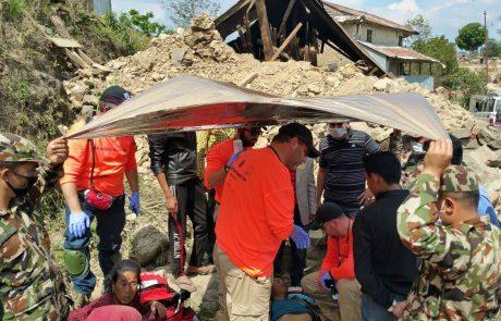 נפאל- דיווח של משלחת חילוץ של פירסט מאזורי רעידות האדמה
