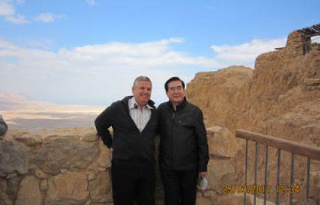 סגן שר החינוך הסיני ביקר בים המלח