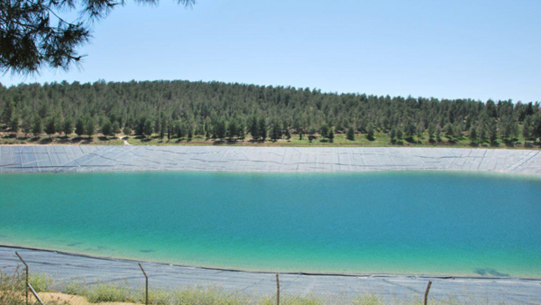 מאגר המים ביער יתיר צילום-ענת רסקין