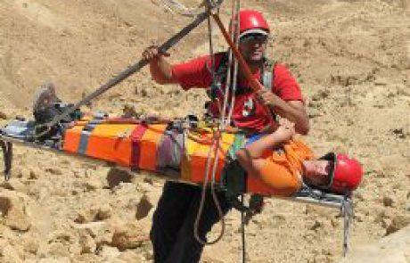יחידת חילוץ ערד- הצילו! אני תקוע באמצע המדבר!