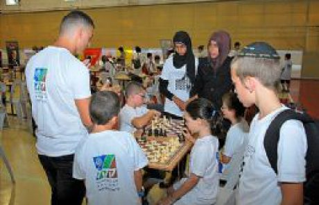 אליפות שחמט במיתר- מקרבת בני נוער יהודים, בדואים וערבים