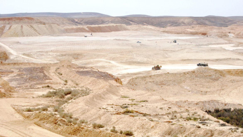 """סופית: משרד הבריאות נגד מכרה הפוספטים בערד: """"תוספת תחלואה ותמותה תהיה בוודאות"""""""