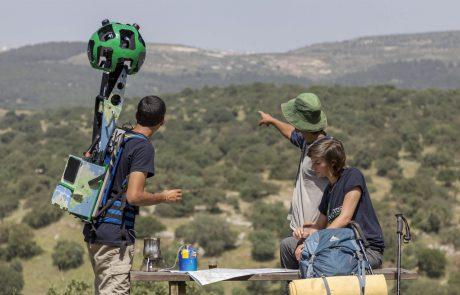 שביל ישראל מצולם ויועלה ל-Street View במפות גוגל