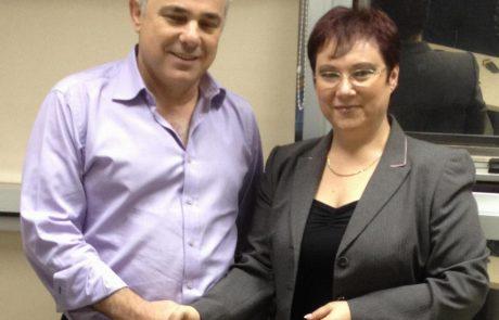 ראש עיריית ערד טלי פלוסקוב נפגשה עם שר האוצר יובל שטייניץ בנוגע לביטול הטבות המס