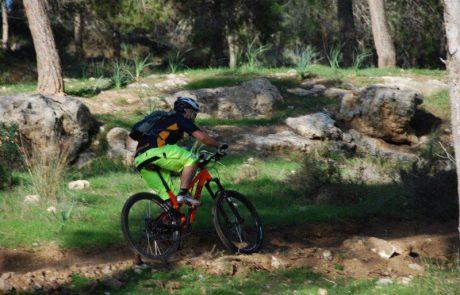 סינגל יער להב- מסלול חדש לרכיבה על אופניים נפתח לקהל