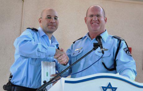 טקס החלפת פיקוד בתחנת משטרת ערד